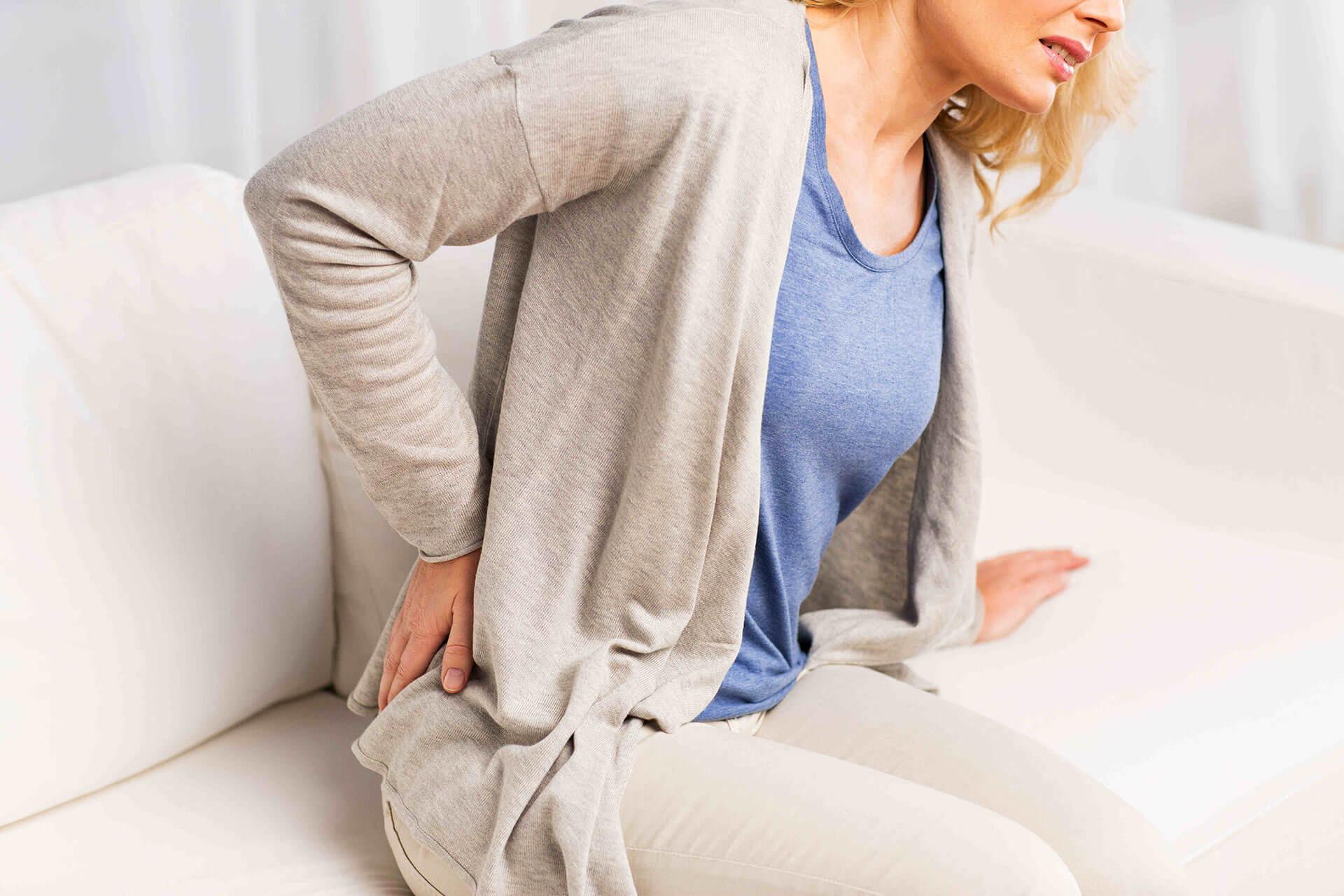 Rückenschmerzen Als Zeichen
